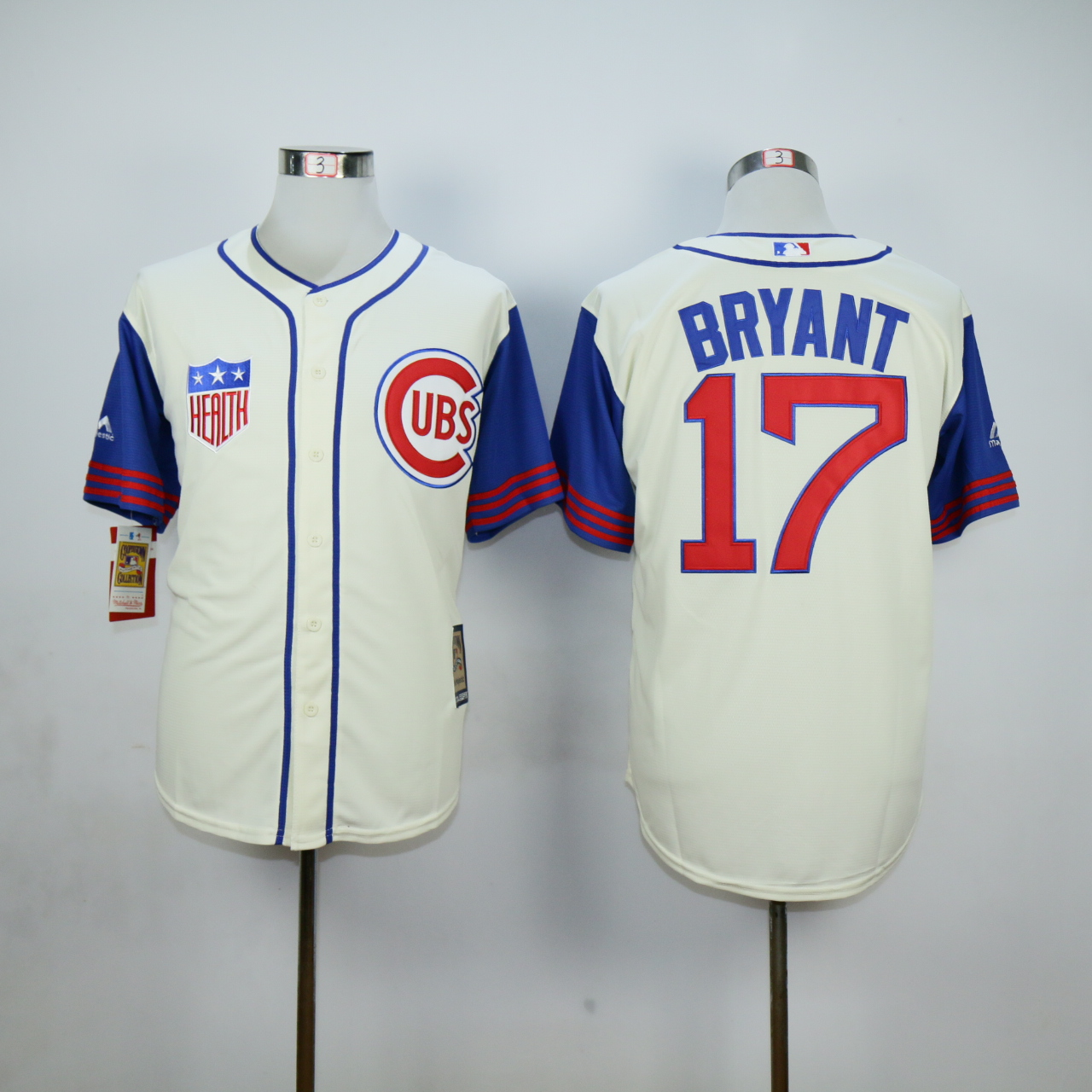 MLB Chicago Cubs 17 Bryant White Jerseys