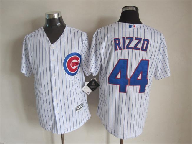 MLB Chicago Cubs 44 Rizzo White 2015 Jerseys