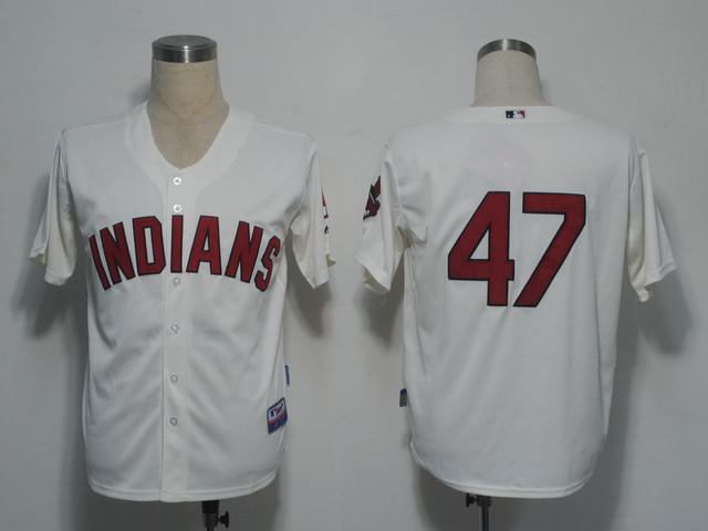 MLB Cleveland Indians 47 Duncan Gream Jerseys