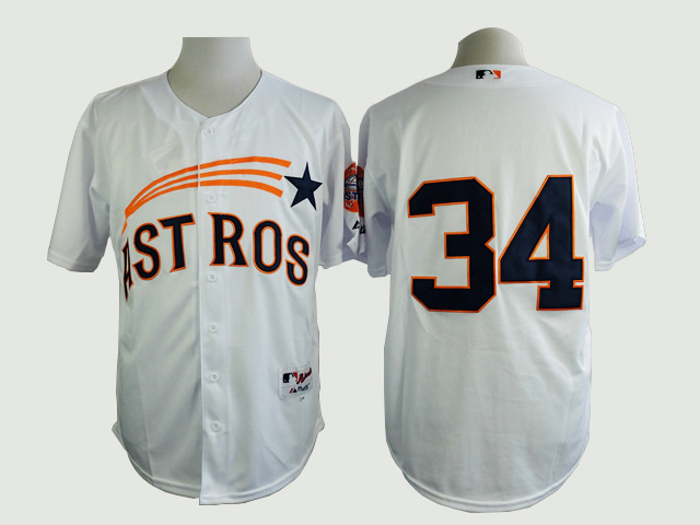MLB Houston Astros 34 Nolan Ryan 1965 Turn Back The Clock