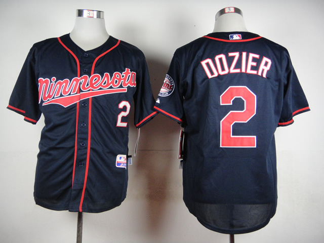 MLB Minnesota Twins 2 Dozier Blue 2015 Jerseys