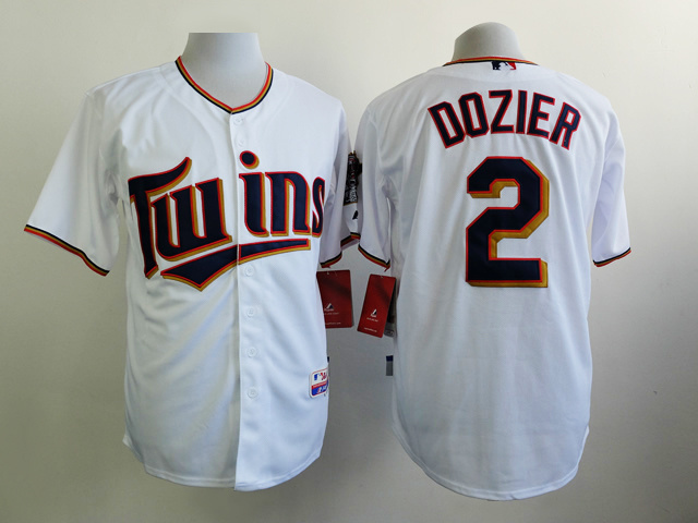MLB Minnesota Twins 2 Dozier White 2015 Jerseys