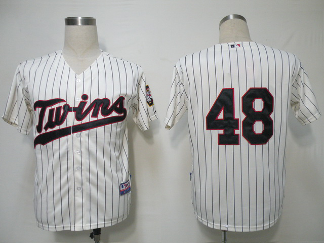 MLB Minnesota Twins 48 Pavano Gream Jerseys