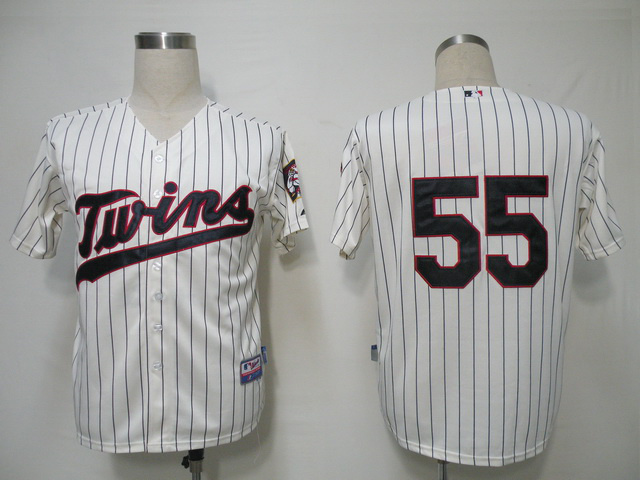 MLB Minnesota Twins 55 Capps Gream Jerseys