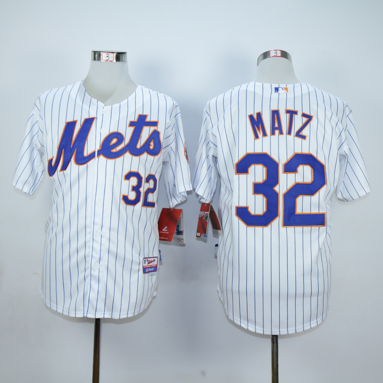 MLB New York Mets 32 Matz white jerseys