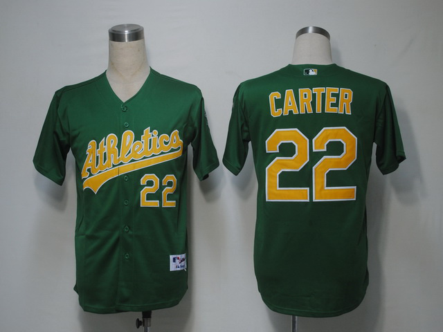 MLB Oakland Athletics 22 Carter Green Jerseys