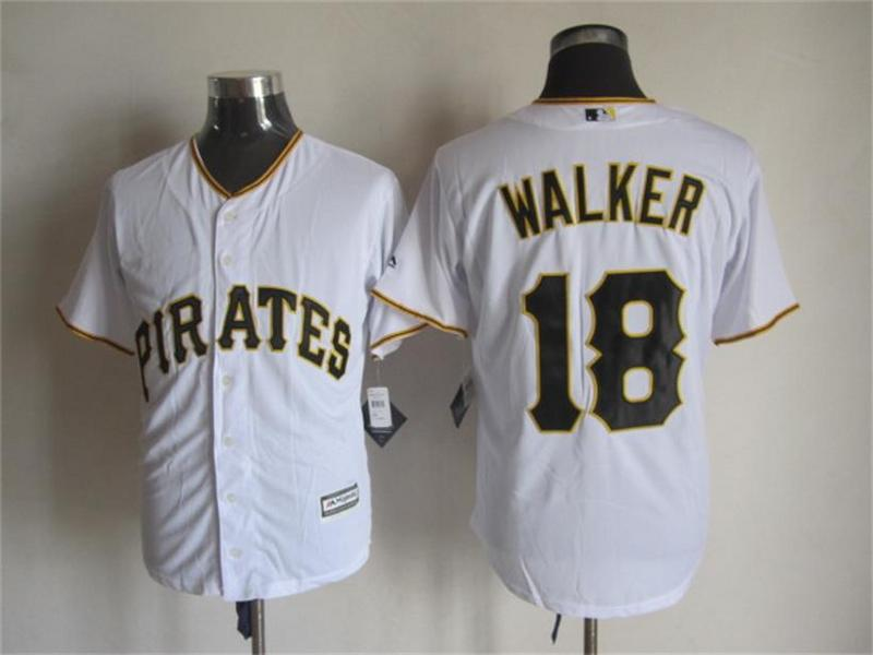 MLB Pittsburgh Pirates 18 walker white 2015 New Fabric Jersey