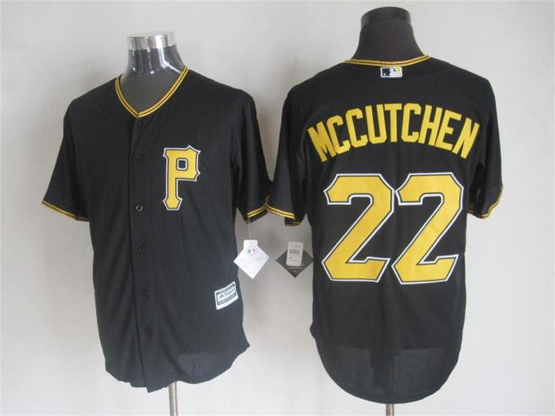 MLB Pittsburgh Pirates 22 Mccutchen Black 2015 Jerseys