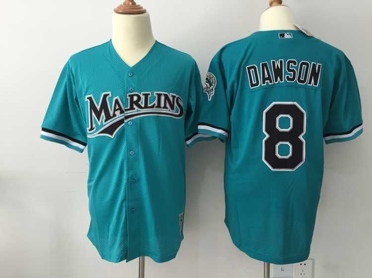 MLB Seattle Mariners 8 Dawson Green Throwback Jerseys