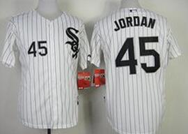 Youth MLB Chicago White Sox 45 Michael Jordan white 2014 Jerseys