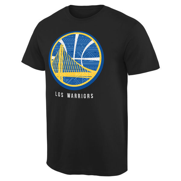 2016 NBA Golden State Warriors Noches Enebea T-Shirt - Black