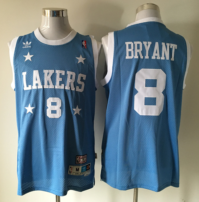 2016 nba Los Angeles Lakers 8 Bryant blue jerseys
