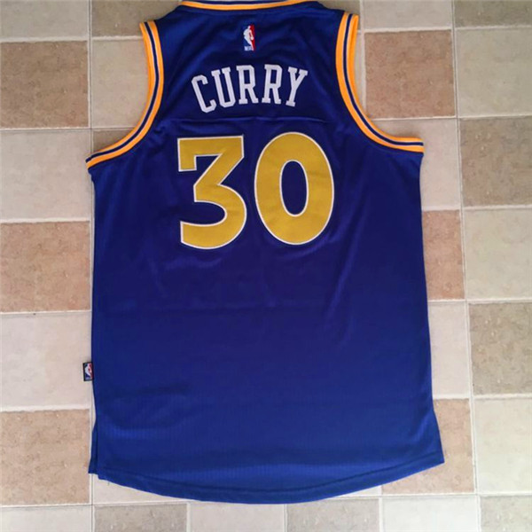 2017 NBA Golden State Warriors 30 Stephen Curry blue Jerseys