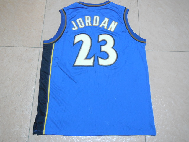 2017 NBA Washington Wizards 23 Jordan blue jerseys
