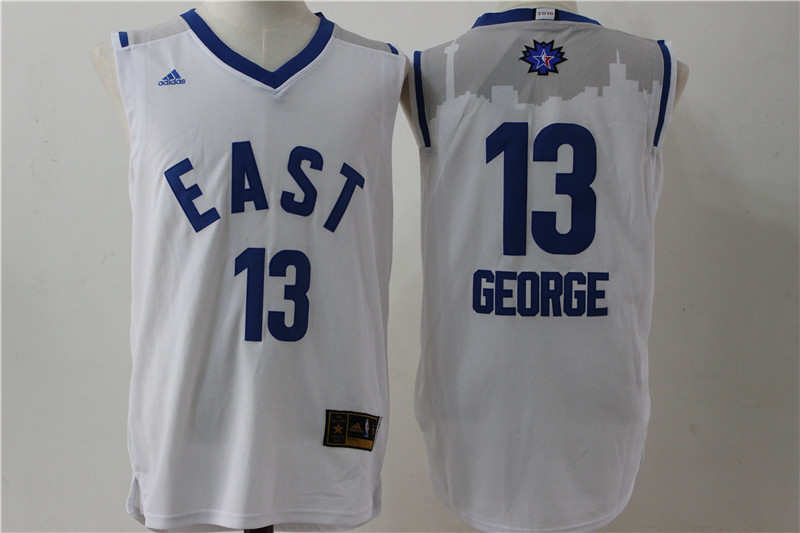 Indiana Pacers 13 George white 2016 NBA All Star jerseys