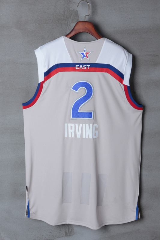 Men Cleveland Cavaliers 2 Irving grey 2017 NBA All Star jerseys