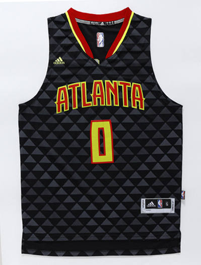 NBA Atlanta Hawks 0 Teague black 2016 Jerseys