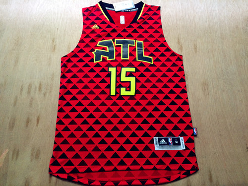 NBA Atlanta Hawks 15 Al Horford red 2016 Jerseys