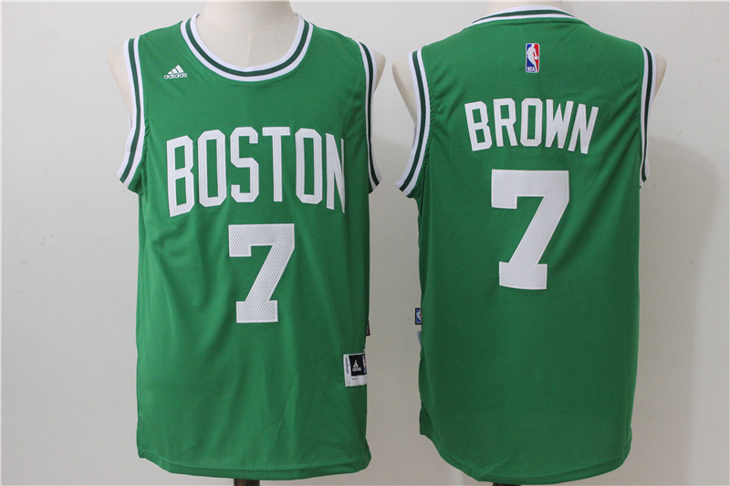 NBA Boston Celtics 7 Brown green 2016 Jersey