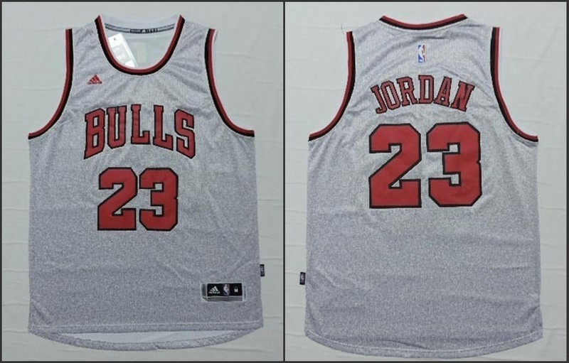 NBA Chicago Bulls 23 Michael Jordan White 2015 Jerseys
