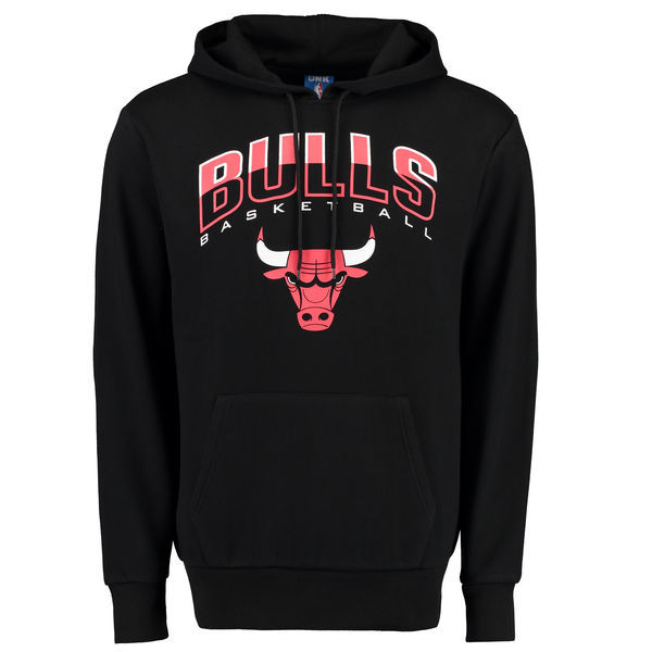 NBA Chicago Bulls UNK Ballout Pullover Hoodie - Black