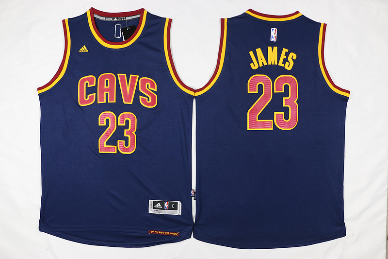 NBA Cleveland Cavaliers 23 James Blue 2015 Jerseys