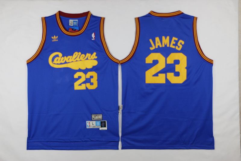 NBA Cleveland Cavaliers 23 James Blue 2017 Jerseys