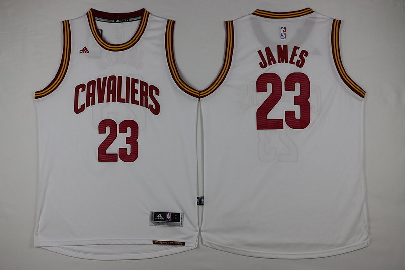 NBA Cleveland Cavaliers 23 James White 2015 Jerseys.
