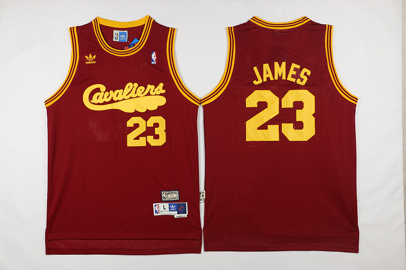 NBA Cleveland Cavaliers 23 James red 2017 Jerseys