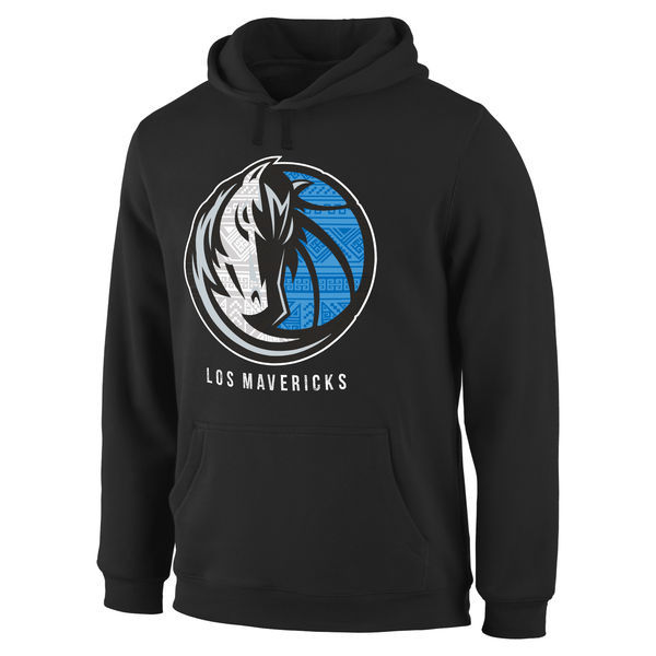 NBA Dallas Mavericks Noches Enebea Pullover Hoodie - Black