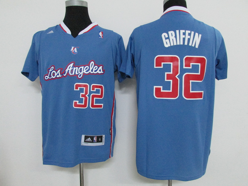 NBA Los Angeles Clippers 32 Blake Griffin Blue 2015 Jerseys
