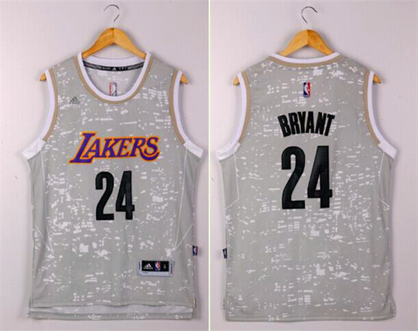 NBA Los Angeles Lakers 24 Kobe Bryant Camo 2015 Jerseys