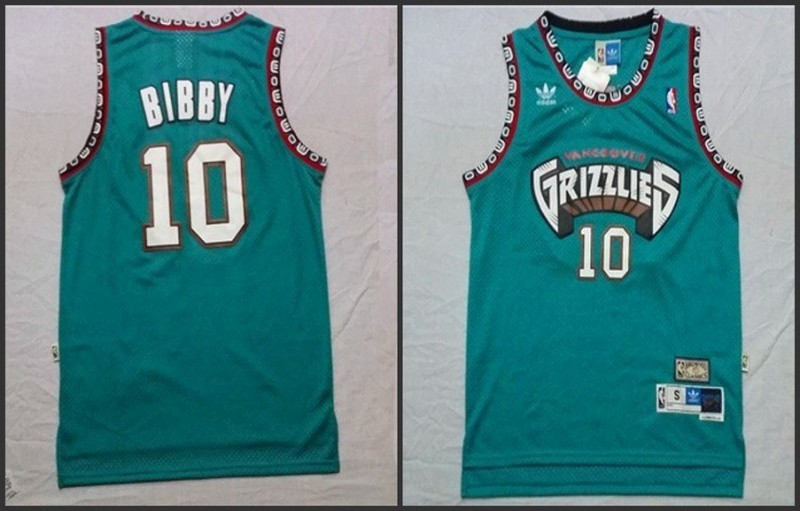 NBA Memphis Grizzlies 10 Mike Bibby Green 2015 Jerseys