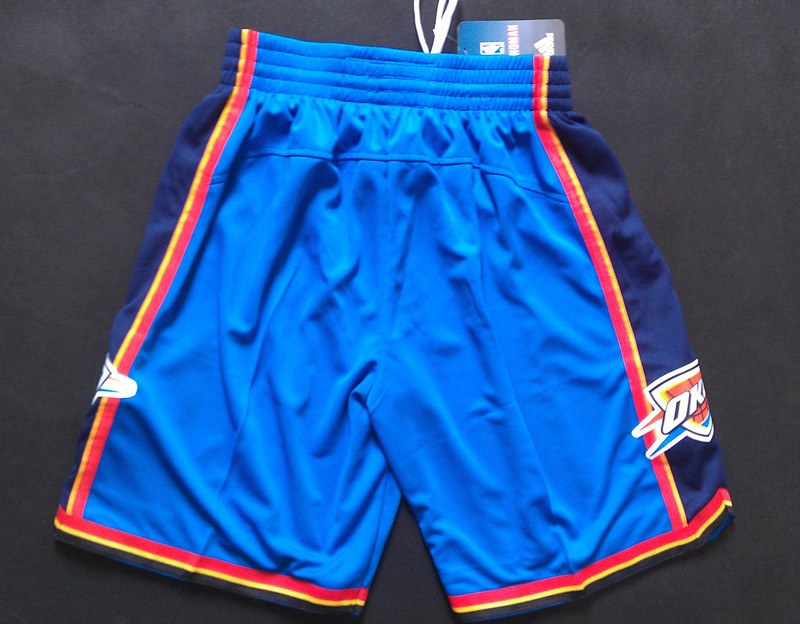 NBA Oklahoma City Thunder blue shorts