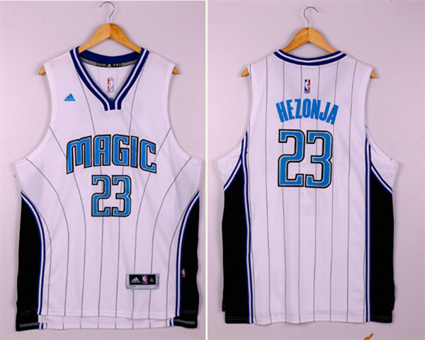 NBA Orlando Magic 23 Mario Hezonja White 2015 Jerseys