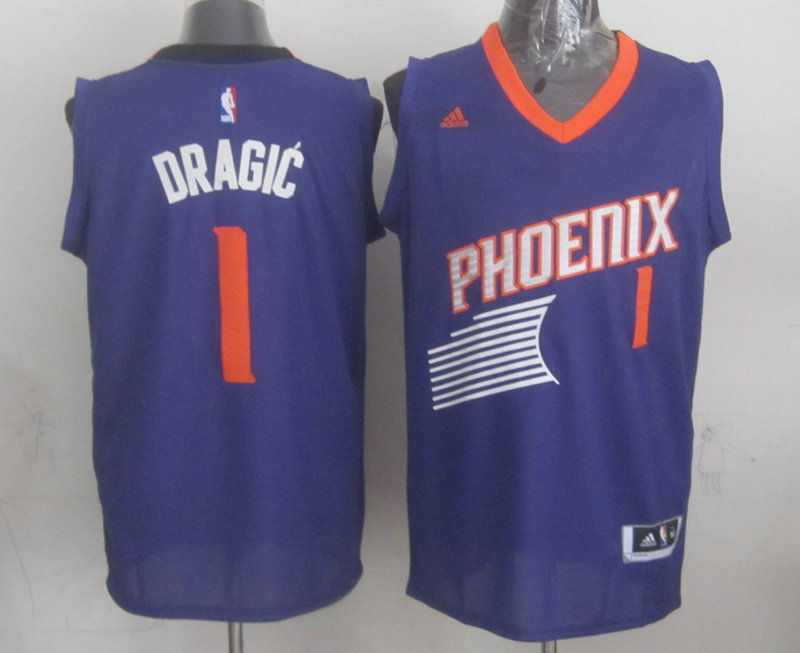 NBA Phoenix Suns 1 Goran DRAGIC Purple 2015 Jerseys