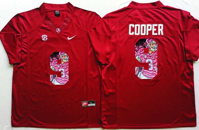 2016 NCAA Alabama Crimson Tide 9 Cooper Red Limited Fashion Edition Jerseys