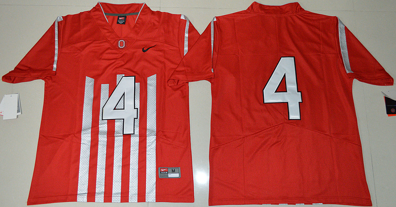 2016 NCAA Ohio State Buckeyes 4 Curtis Samuel Red College Football 1917 Throwback Limited Jersey