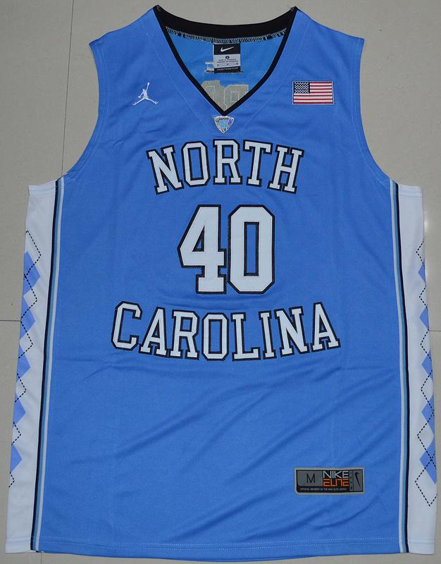 f3f76c3424cd 2016 North Carolina Tar Heels Harrison Barnes 40 College Basketball Jersey  - Carolina Blue