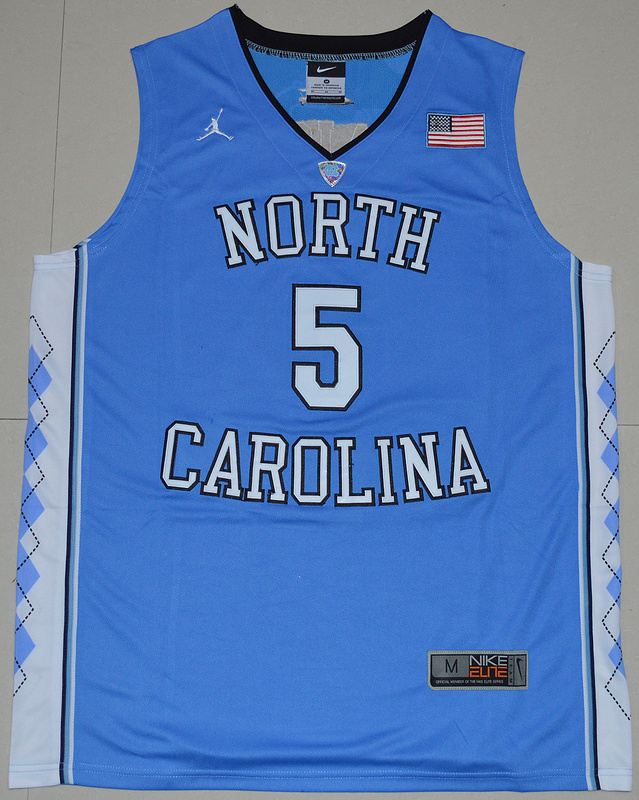 2016 North Carolina Tar Heels Marcus Paige 5 College Basketball Jersey - Carolina Blue