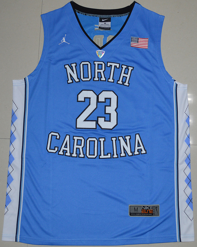 fe2666f00995c9 2016 North Carolina Tar Heels Michael Jordan 23 College Basketball Jersey -  Carolina Blue