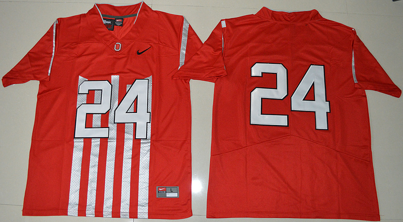 2016 Ohio State Buckeyes Malik Hooker 24 College Football 1917 Throwback Limited Jersey