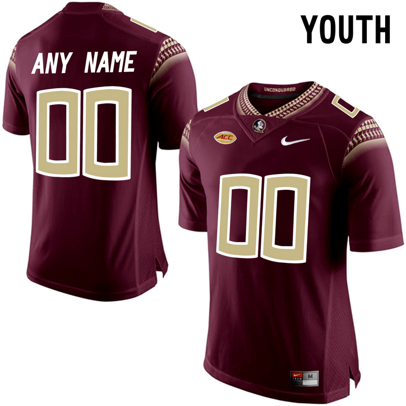 2016 Youth Florida State Seminoles Customized College Football Limited Jersey Red
