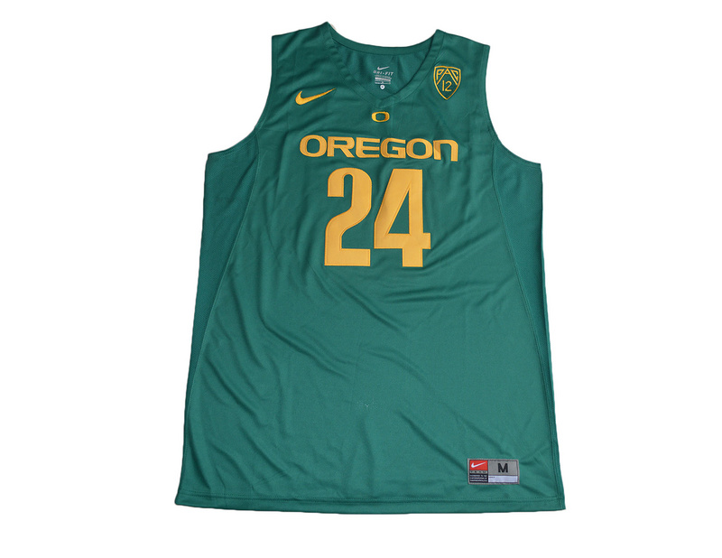 2017 Oregon Ducks Dillon Brooks 24 College Basketball Jersey - Green