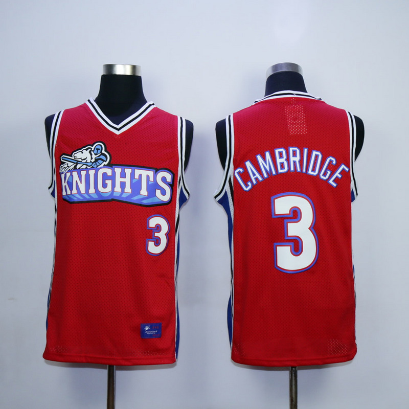 Like Mike Movie Los Angeles Knights 3 Calvin Cambridge Red Jersey