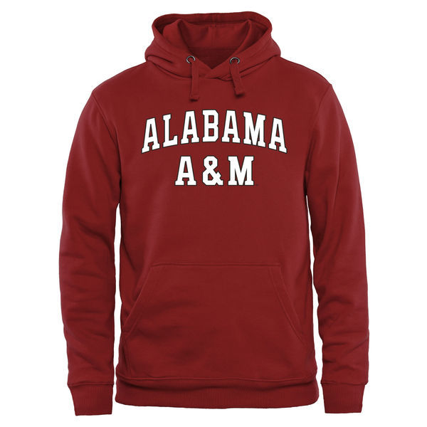 NCAA Alabama A&M Bulldogs Everyday Pullover Hoodie - Crimson