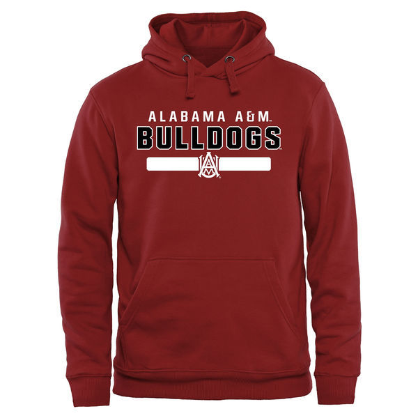 NCAA Alabama A&M Bulldogs Team Strong Pullover Hoodie - Maroon
