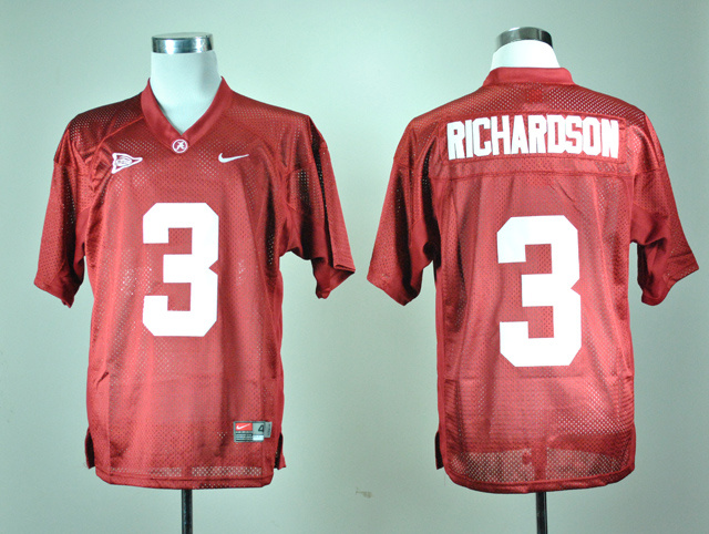 NCAA Alabama Crimson Tide 3 Trent Richardson Crimson Nike College Football Jersey.