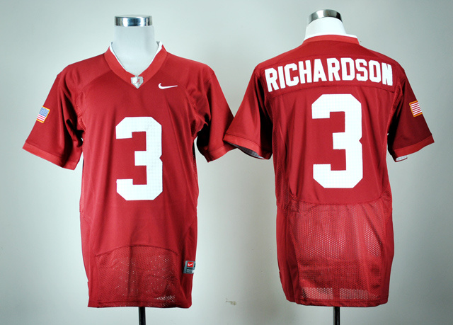 NCAA Alabama Crimson Tide 3 Trent Richardson Crimson Pro Nike Combat College Football Jersey