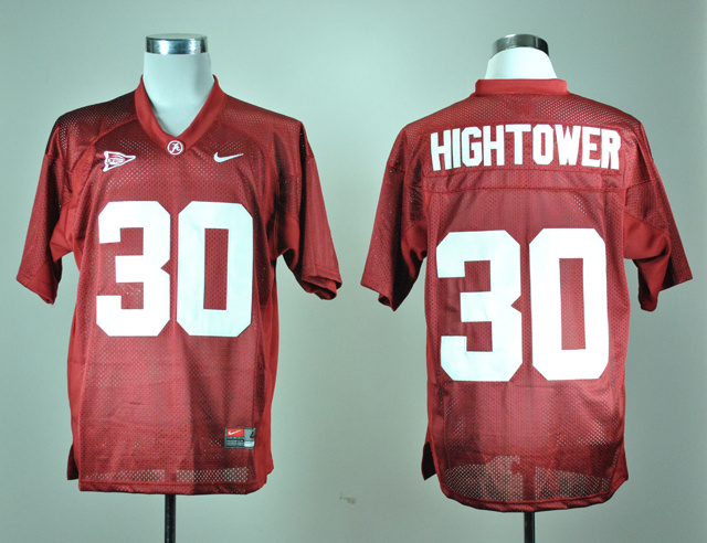 NCAA Alabama Crimson Tide 30 Dont'a Hightower Crimson Nike College Football Jersey.